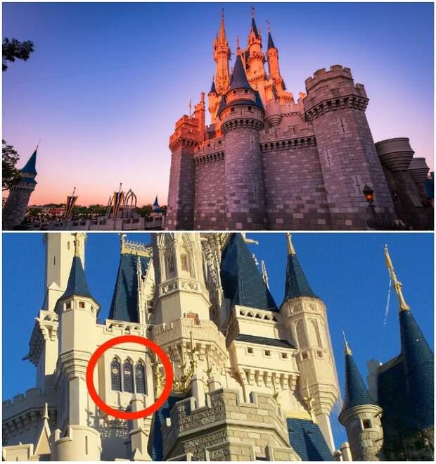 Попасть в апартаменты Золушки могут только избранные счастливчики (Walt Disney World's Magic Kingdom, Орландо).   Фото: insider.com/ disneytouristblog.com.
