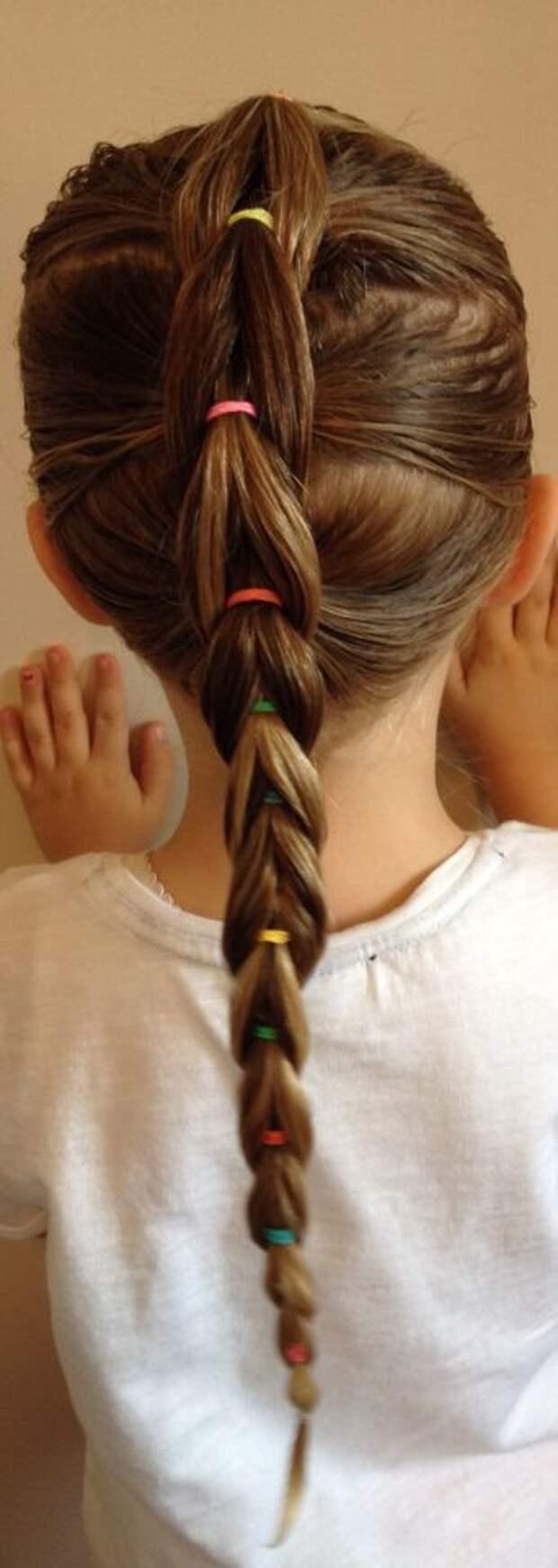 Детские нарядные прически (трафик)