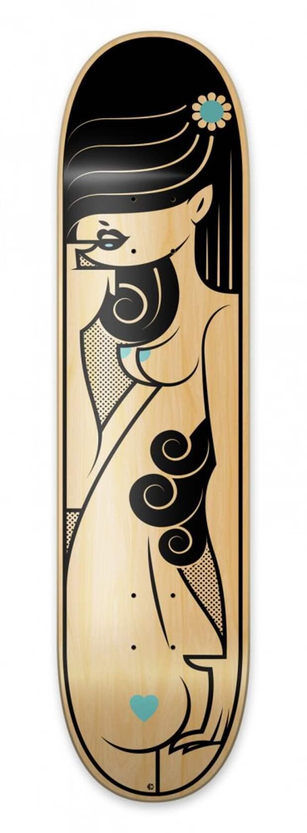Дизайн скейтбордов