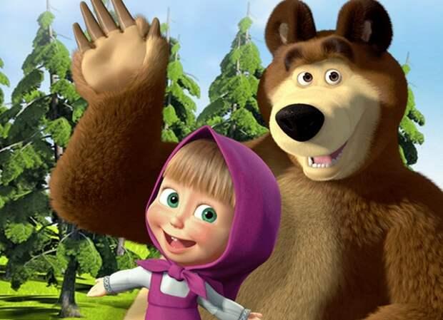 Картинки по запросу маша и медведь