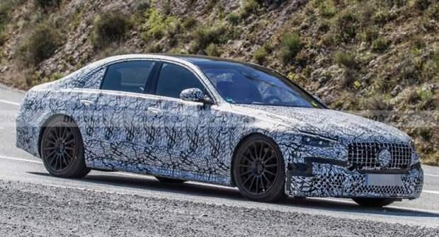 Новый Mercedes-AMG S63 E снова замечен на испытаниях