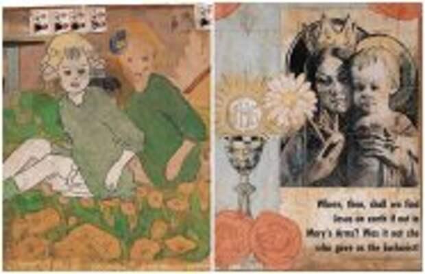Современное искусство: Как слабоумный художник-иллюстратор создавал жутко-интересные сюжеты: Выдуманные истории Генри Даргера
