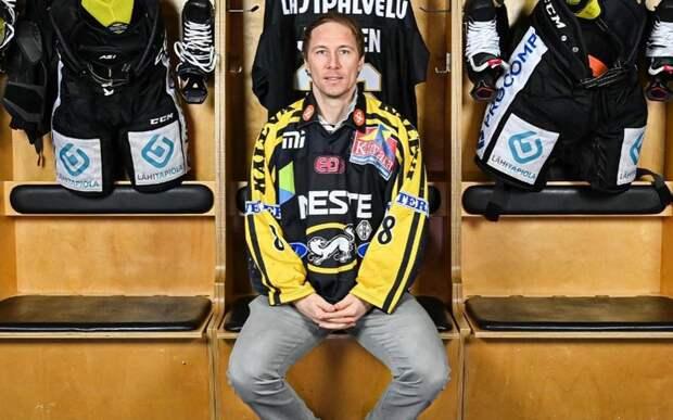 Вице-чемпион Олимпиады-2006 и экс-форвард «Каролины» Йокинен завершил карьеру