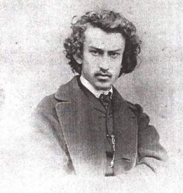 Фотография Николая Миклухи — студента (до 1866 года)