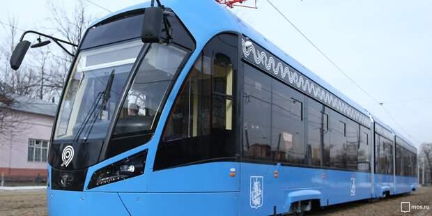 Движение трамваев №17 не будут останавливать на время ремонта путей