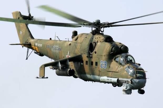 Российский вертолет сбит вблизи границы Азербайджана. Два члена экипажа погибли, один эвакуирован