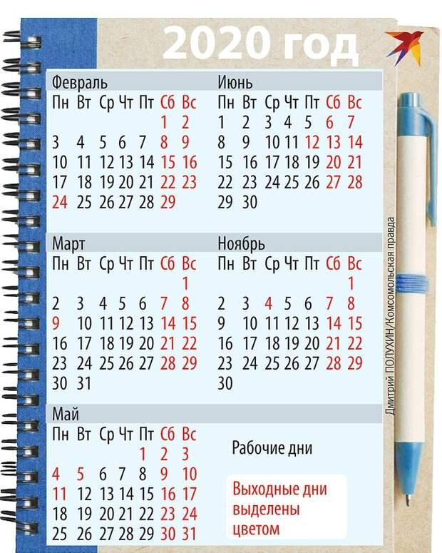 Как отдыхает Россия в 2020 году: россиян ждет еще семь коротких рабочих недель