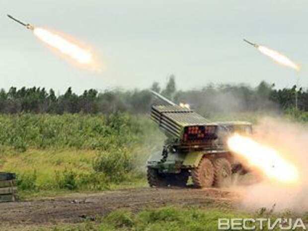 В Новоазовске силы АТО обстреливали снарядами с неизвестным веществом