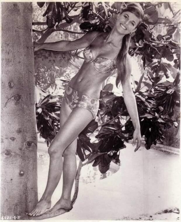Салли Саше – красавица с очаровательной улыбкой из 60-х.