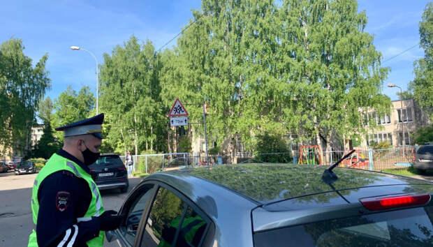 Водитель получил крупный штраф в ходе утреннего рейда в Петрозаводске