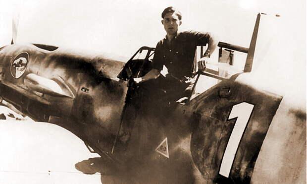 Командир 10./JG 51 обер-лейтенант Йоханн Кнаут в кабине своего истребителя, лето 1941 года. - Вынужденные драться? С удовольствием! | Военно-исторический портал Warspot.ru