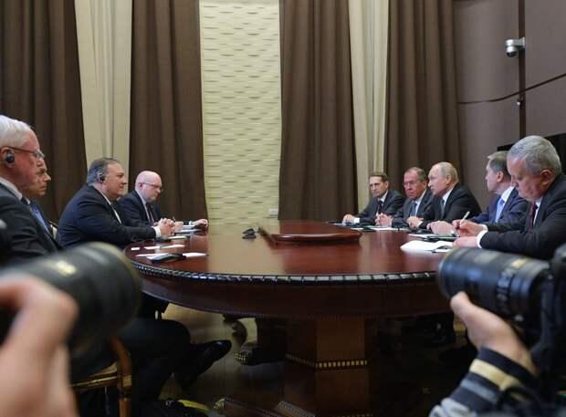Визит госсекретаря США в Сочи: Помпео улетел, проблемы остались