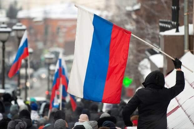 Россия вновь вышла за Навального (фото)