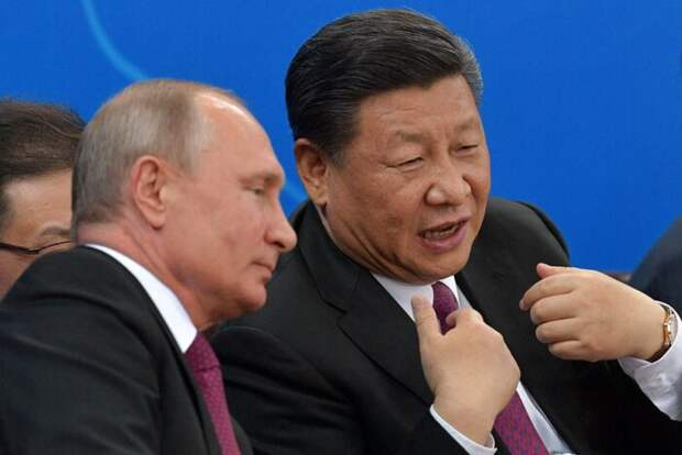 Москва и Пекин обнимаются— Вашингтон колбасится