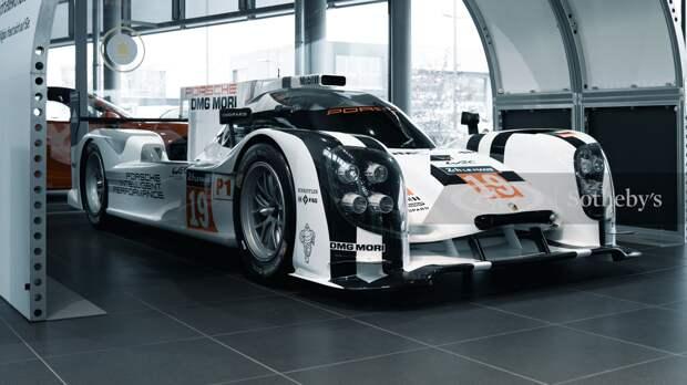 Макет гоночного Porsche 919 Hybrid продадут с аукциона