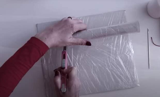Уникальный декор для стен из бросовых материалов