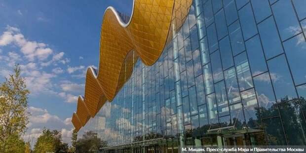 Собянин: Москва строит по-настоящему современные и опережающие время объекты / Фото: М. Мишин, mos.ru