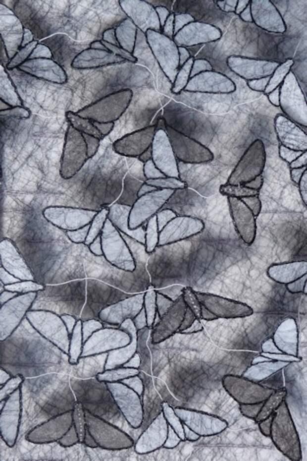 Необычная вышивка Анне Ханиман