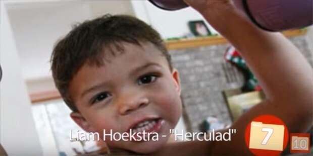 7. Лиам Хоекстра — Геркулес 10 людей со сверхспособностями., сверхспособности, топ
