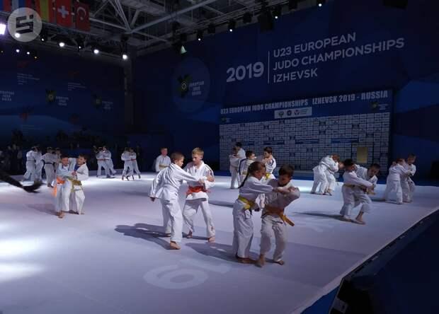 Первенство Европы по дзюдо среди спортсменов до 23 лет началось в Ижевске