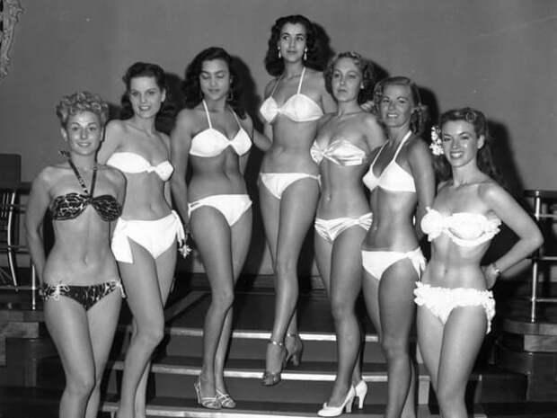 Участницы конкурса красоты «Мисс мира», 1951.