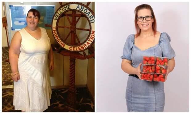 Как британка сбросила 64 кило, съедая по6 упаковок клубники вдень
