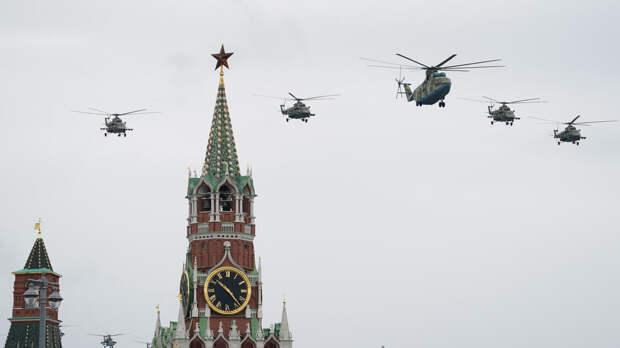 Синоптик рассказал, как перед парадом Победы улучшили погоду в Москве