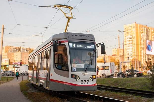 В Краснодаре трамвай №4 временно изменит маршрут