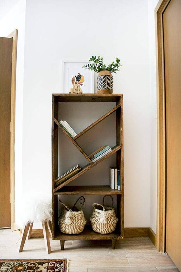 Идеи книжных полок, которые Вы сможете сделать самостоятельно