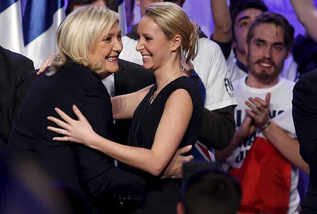 Марин Ле Пен с племянницей Марион