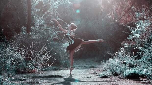 Балетная Поза, Девушка, Ноги, Танцы
