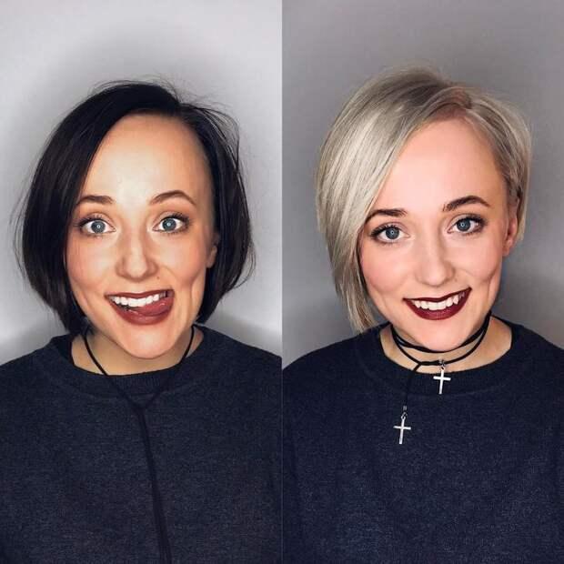 стрижки после 40 лет на разную длину волос фото 16