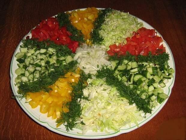 овощная нарезка-13