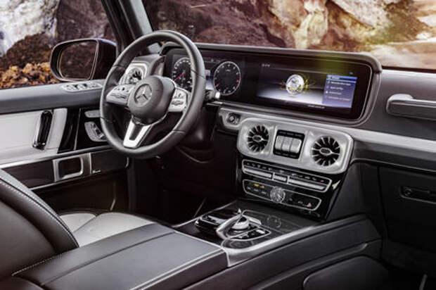 Новый Mercedes-Benz G-класса: первые фотографии