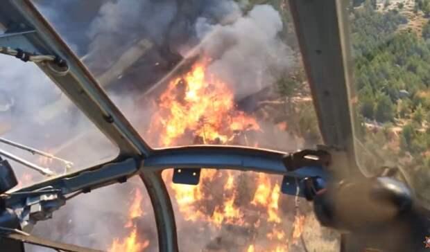 Россия направит в помощь Турции в тушении пожаров авиагруппировку МЧС и Минобороны
