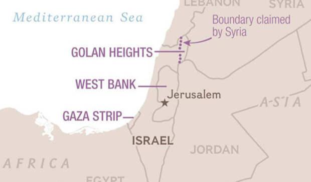 Голанские высоты, сектор Газа и Западный берег реки Иордан Палестина, Израиль и Сирия Географические районы, оспариваемые израильтянами и палестинцами — крошечные кусочки земли. Но в этих широтах цепляются и за метр бесплодной пустыни. Кровь проливается здесь в штатном режиме: каждую неделю гибнут десятки палестинцев и израильтян. Голанские высоты, помимо всего прочего, оспаривает и Сирия, хотя на данный момент ей хватает внутренних проблем.