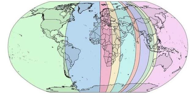 Девять карт Карты, Планета Земля, География, Длиннопост