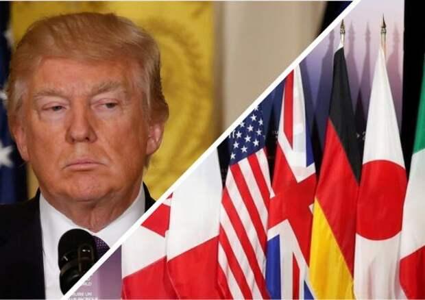 Трамп сообщил причины исключения России из G8