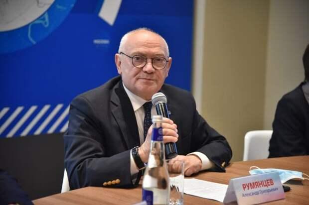 Румянцев: рост финансирования медицины — вложение в человеческий капитал