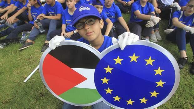 Евросоюз планирует признать Палестину несмотря на протесты США и Израиля