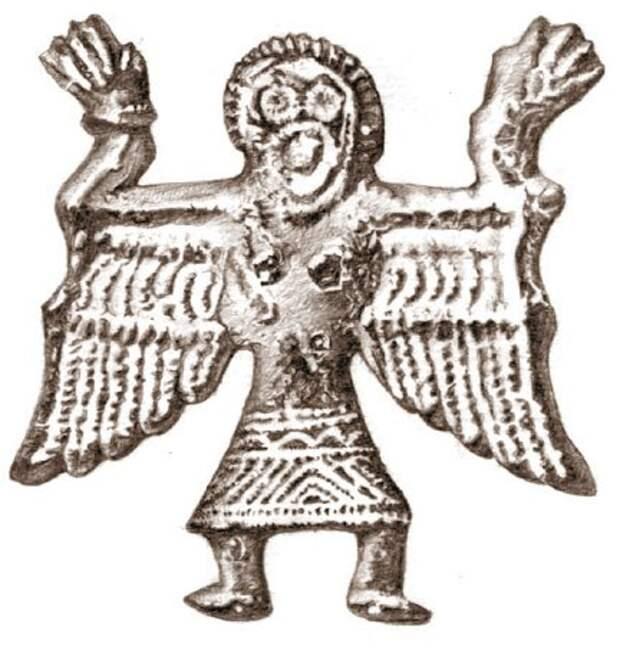 Фигурки славянских языческих богов из Велестинского клада.