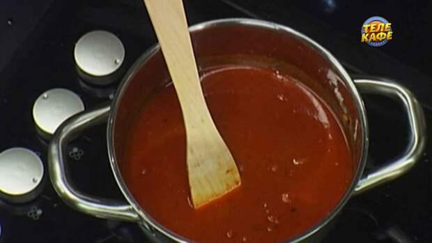 Курица карри в остром томатном соусе