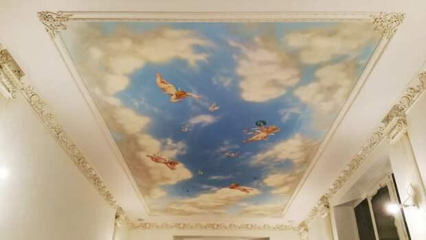 Художественные натяжные потолки: преимущества и для чего они?