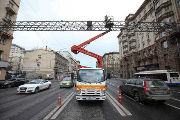 В Москве отключили часть камер фотовидеофиксации