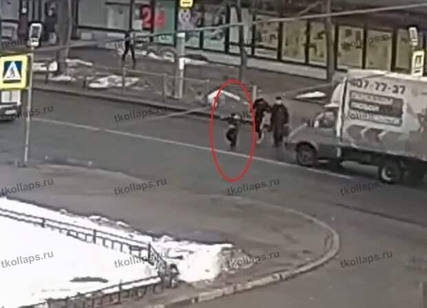 Штраф на месте Красное село, видео, дети, дтп, пешеход