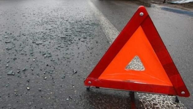 В Подольске человек погиб при столкновении автомобиля ВАЗ с грузовиком