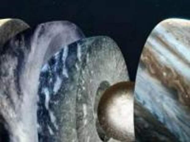 Как выглядят планеты изнутри?