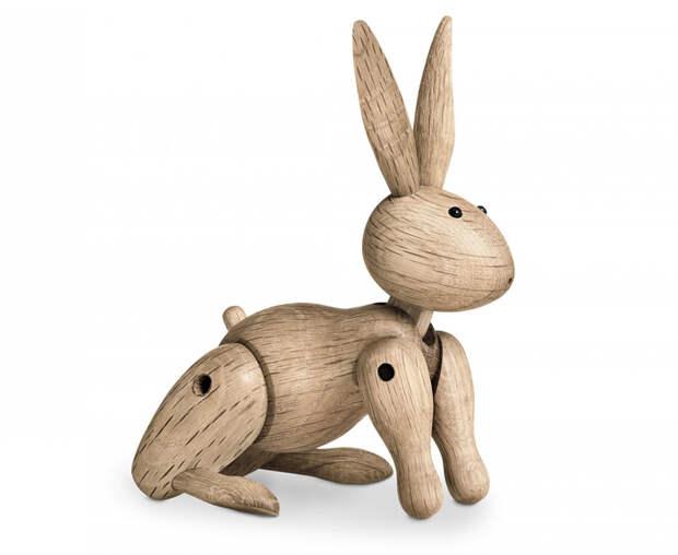 Деревянный заяц.
