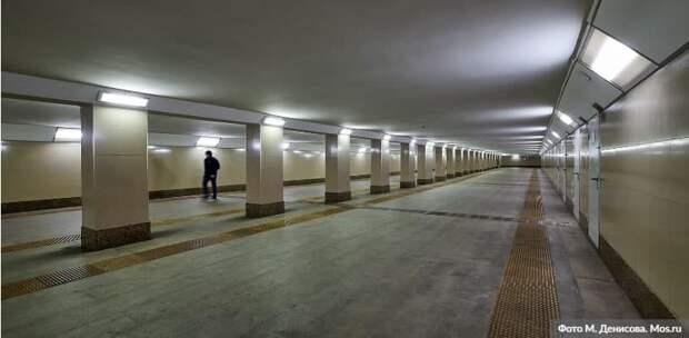 Шесть эскалаторов смонтировали на станции БКЛ «Терехово»