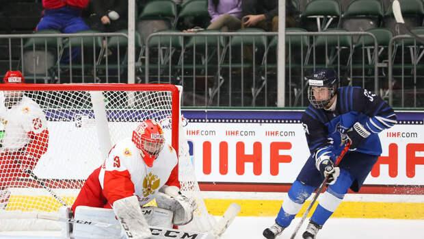 Наставник сборной Финляндии назвал разочарованием поражение от России в 1/2 ЮЧМ